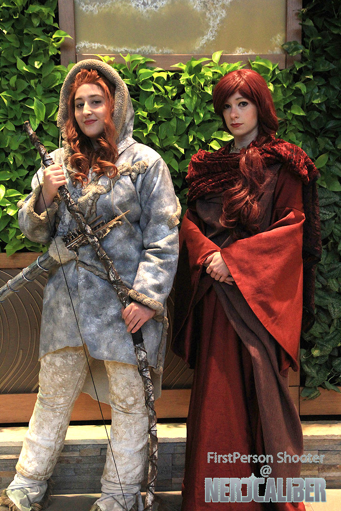 Ygritte and Melisandre from Game of Thrones