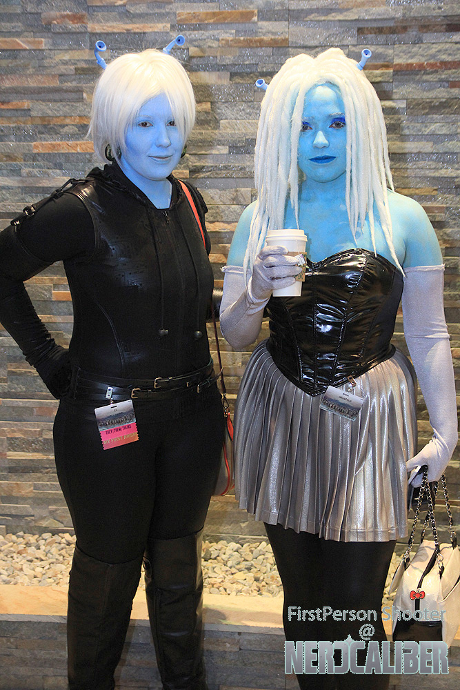 Andorians from Star Trek