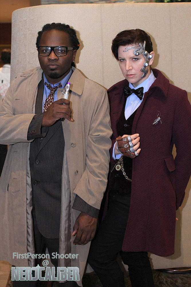 Doctor Who and Doctor Who (Mr. Clever)