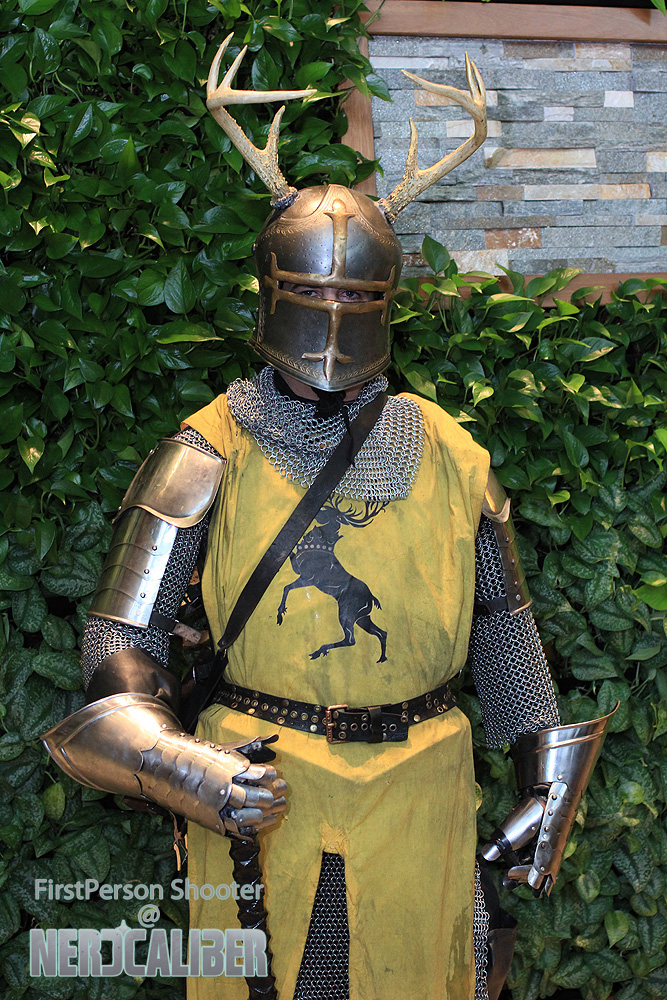 Young Robert Baratheon during the Battle of the Trident