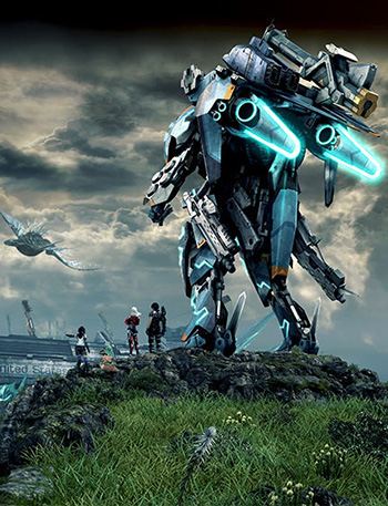 Xenoblade Chronicles X for the Wii U added mechs.
