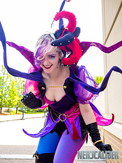 One of the consistent positives of ConnectiCon is the cosplay. Pictured is Carley Winn Cosplay.