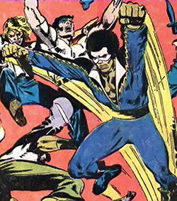 Original Black Lightning design by Trevor Von Eeden at the height of the disco era.