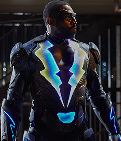 Cress Williams as Black Lightning in the new CW series.