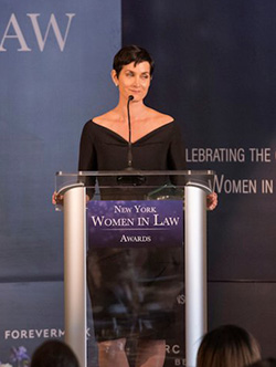 Carrie-Anne Moss continues to kill as the sharkiest of lawyers, Jeri Hogarth.